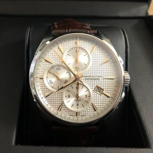 Offers accepted! HAMILTON Jazzmaster Chrono Watch